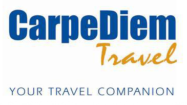 CarpeDiem Travel - Tagline logo